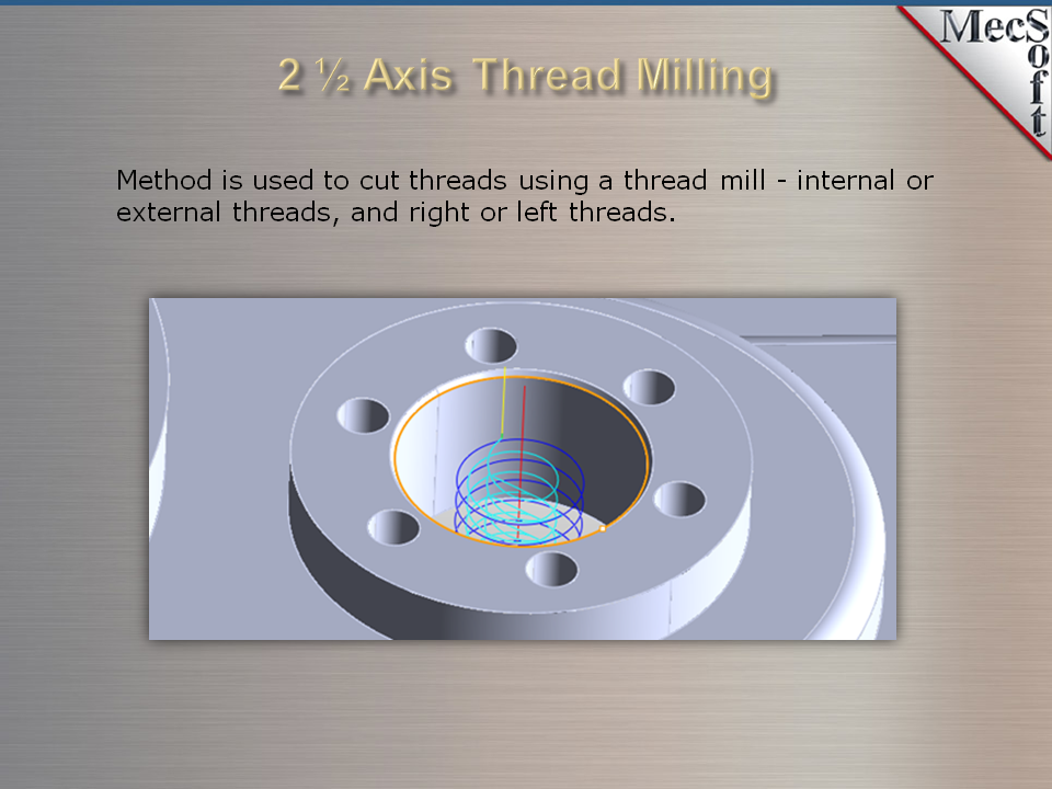 VisualMill - Milling CNC software package | MecSoft