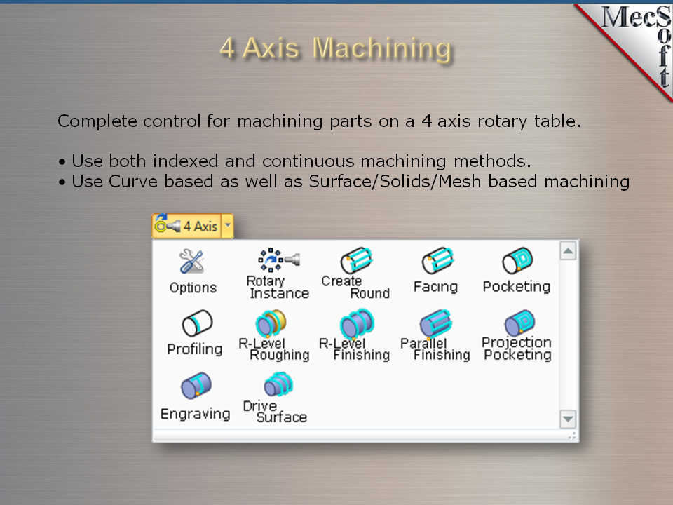 VisualMill - Milling CNC software package   MecSoft Corporation