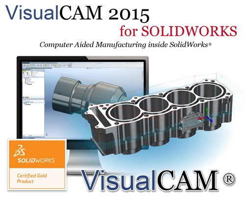 VisualCAM 2015 for SolidWorks