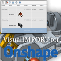 visualimport for onshape