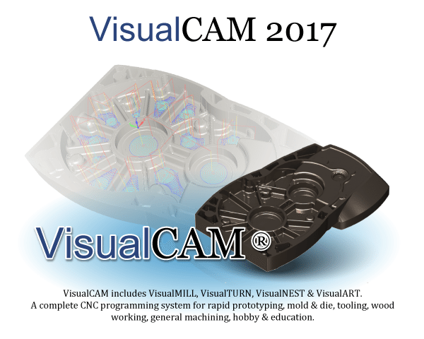 VisualCAD/CAM 2017