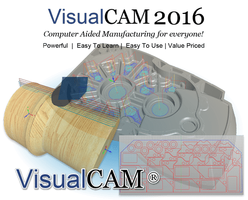 VisualCAD/CAM 2016