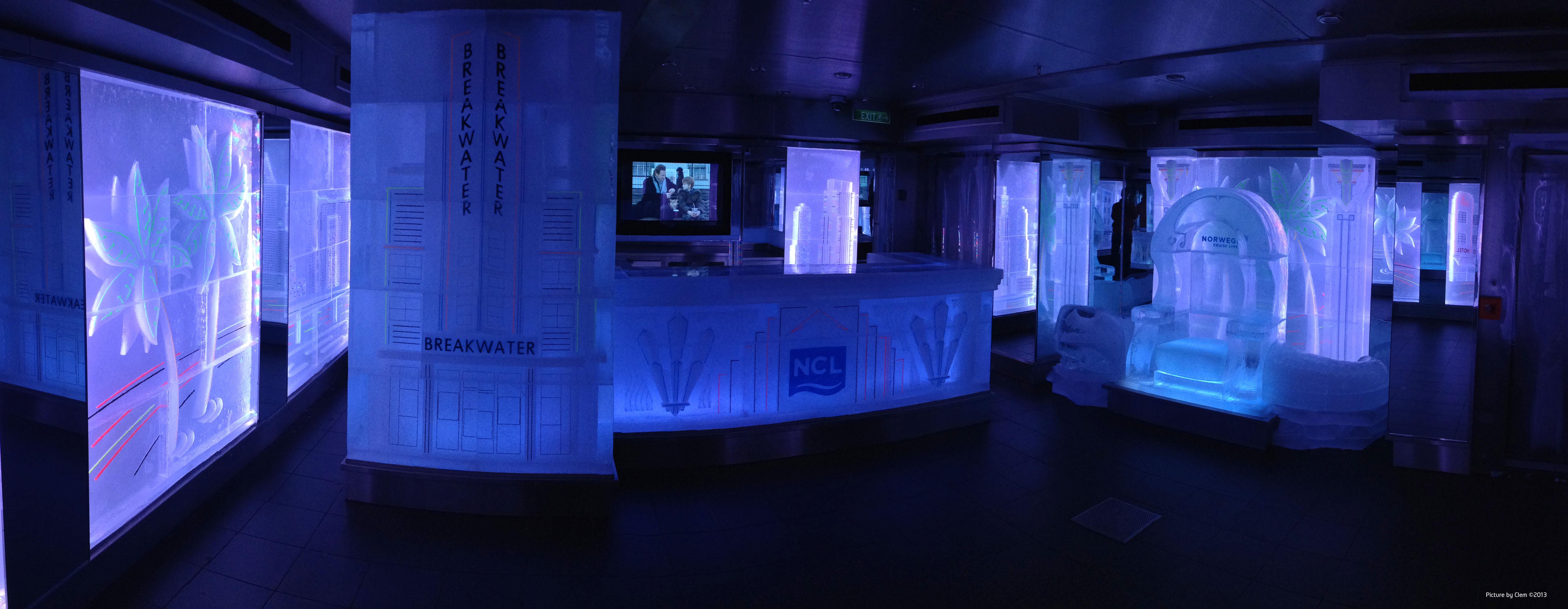 Manufactured Ice Sculptures Using Mecsoft's RhinoCAM 3