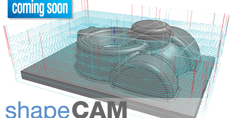 Learn about shapeCAM in its current incarnation is a fully cloud-based companion application to Onshape that allows the user to create 2 ½ Axis and 3 Axis milling cutter paths for Onshape part files.