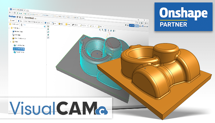 Visualcamc For Onshape Is Cam Software Application On The Cloud That Allows You To Create 2  C2 Bd Axis 3 Axis And 32 Milling Cutter Paths For Onshape Design
