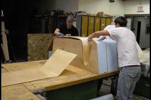 At Montana State University School of Architecture students learn Design & Build techniques that help them prepare for the challenges they will face in their new careers.