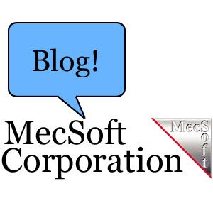 Hi there, and thanks for reading! This our very first post on our brand new CAD/CAM blog here at MecSoft. We bring you CAD/CAM news, CAD CAM images, and more!
