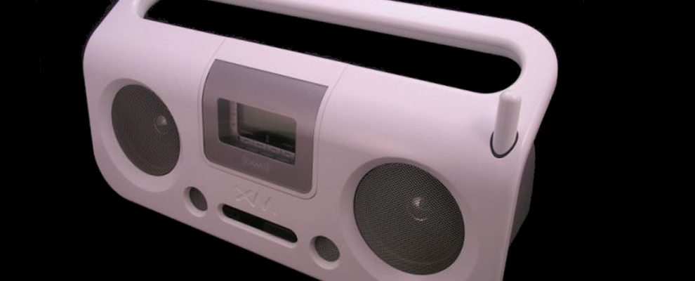 Impressive XM radio stereo constructed using 3D CAD images and MecSoft CAM Software.